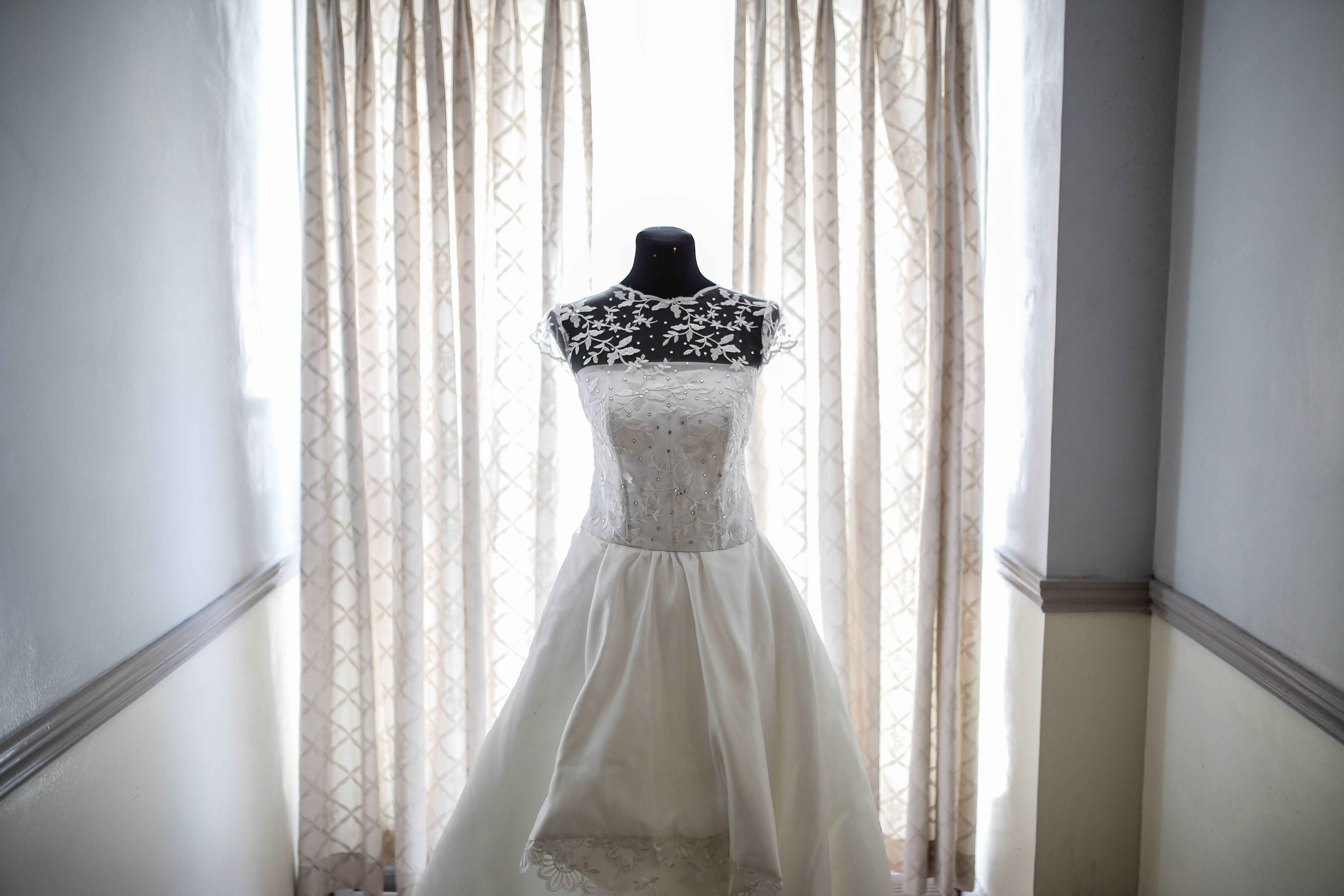 Photo Of A Bridal Gown 1500881